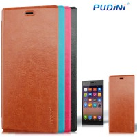 Pudini Xiaomi MI3 Luxury Leather Flip Cover Case