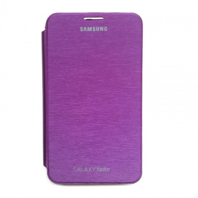 sports shoes a51a1 c8767 Purple Flip Cover For Samsung Galaxy Note 1 / N7000