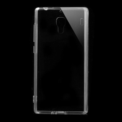 Xiaomi Redmi 1s Transparent Soft Transparent  Back Case Cover
