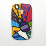 Pattern B Funky Soft cover For Samsung Galaxy S Dous S7562