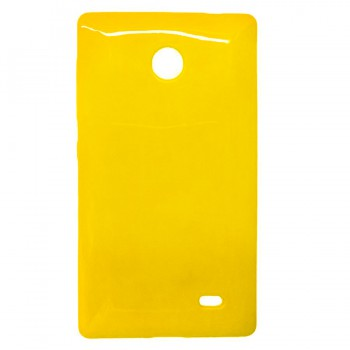 Yellow soft case cover for Nokia X android